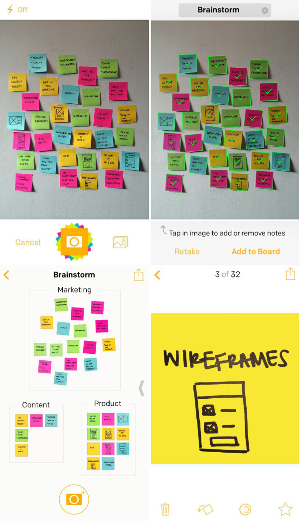 post-it-plus-app-screens