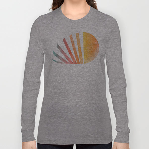 rainbow-raising-sun-long-sleeved-tee