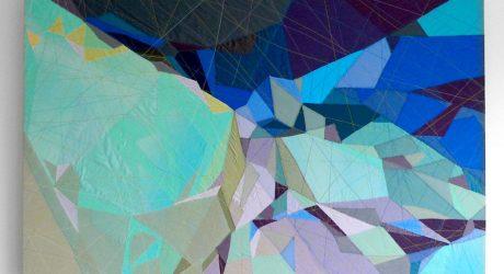 Sarah Symes' Abstract Textile Art