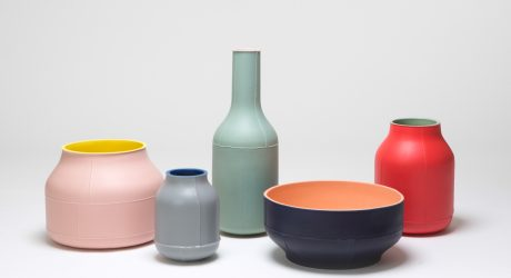 Seams: Ceramic Centerpieces by Benjamin Hubert for Bitossi