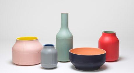 Seams: Ceramic Centerpieces by Benjamin Hubert for Bitossi