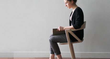 "Two-Legged Chair Creates ""Bearable Discomfort"" for Better Health"