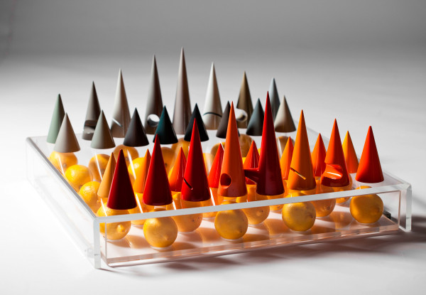 A Colorful Chess Set That Can Be Used in Multiple Ways in style fashion main home furnishings Category