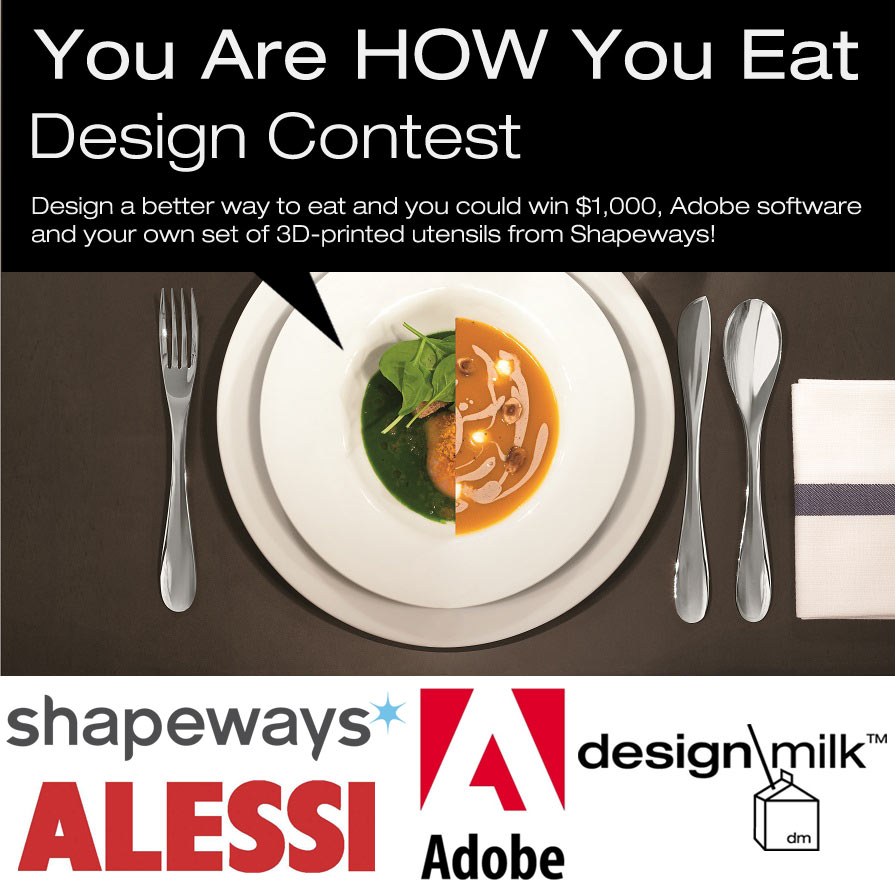"Enter The ""You Are How You Eat"" Design Contest"