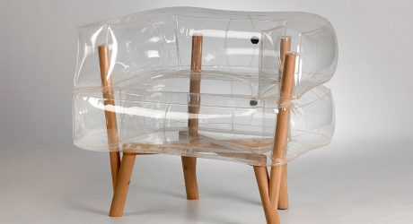 Anda: An Inflatable Chair by Tehila Guy