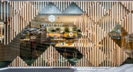 A Modern Cheese Bar in Barcelona by estudi{H}ac