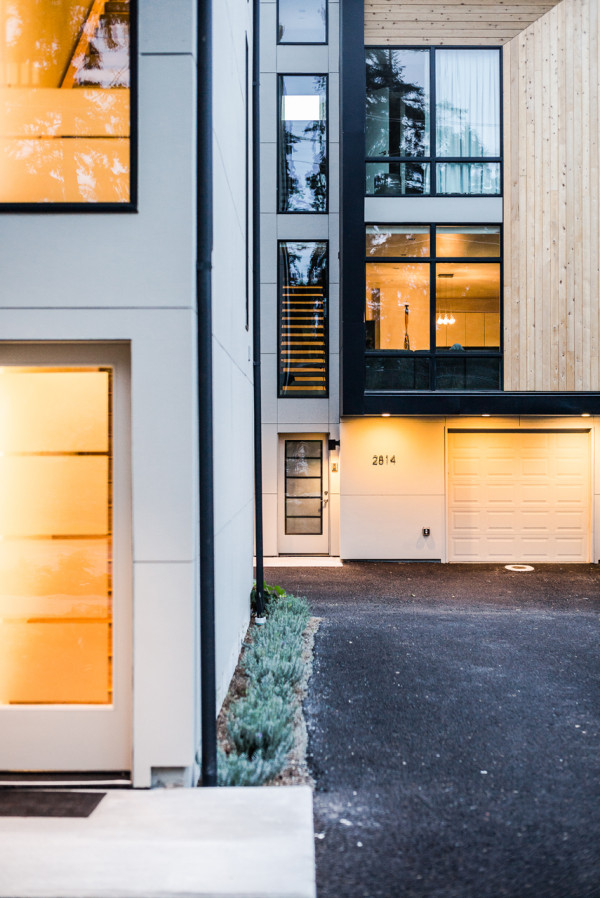 Modern Prefab Townhomes In West Seattle Design Milk
