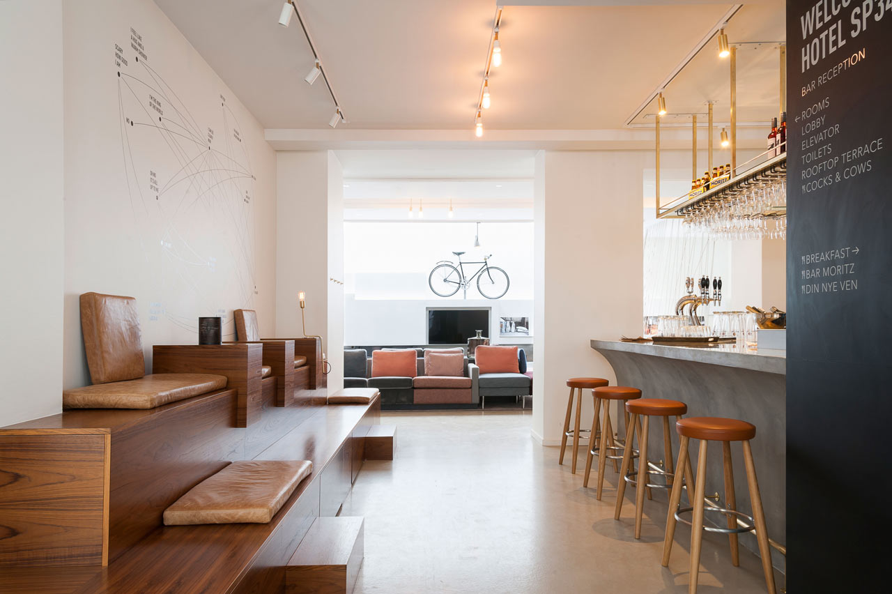A boutique hotel in the latin quarter of copenhagen for Interior design agency copenhagen