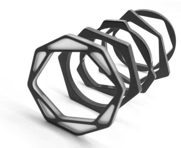 New Graphic Earrings and Bracelets from Dzmitry Samal Design Milk
