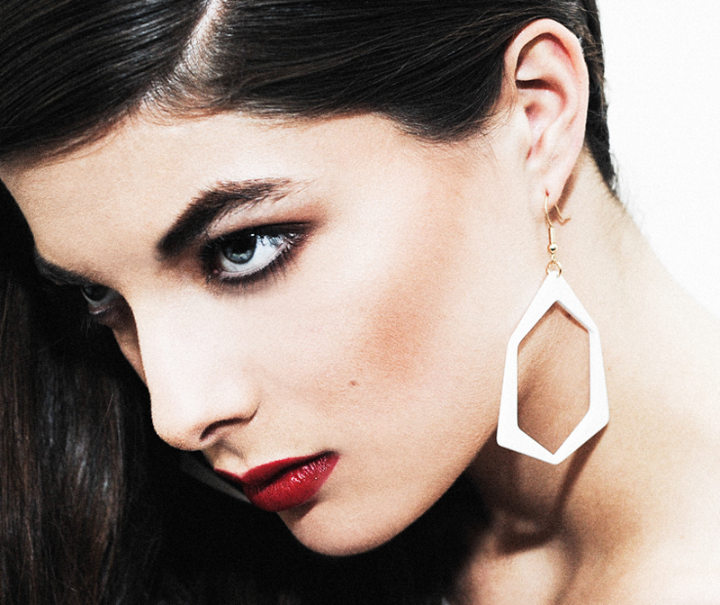 New Graphic Earrings and Bracelets from Dzmitry Samal