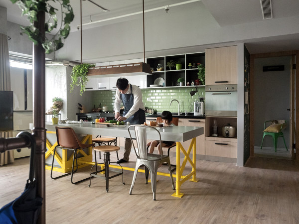 A Taiwanese Home Where the Kitchen Takes the Stage in main interior design  Category