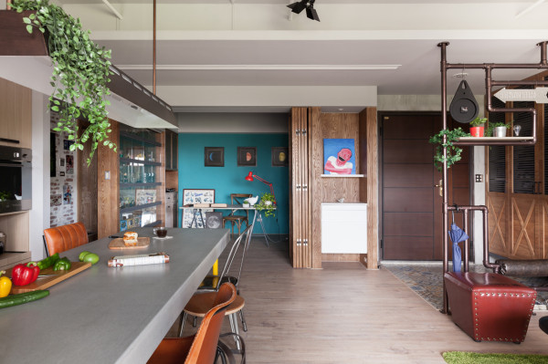 A Taiwanese Home Where the Kitchen Takes the Stage - Design Milk