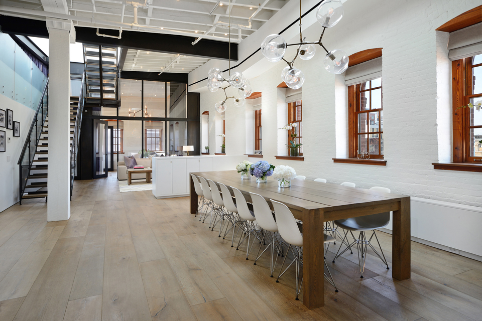 A nyc warehouse becomes a penthouse loft design milk
