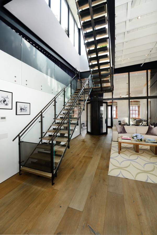 A NYC Warehouse Becomes a Penthouse Loft in main architecture  Category