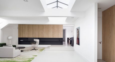 Once a Garage, Now a Light-Filled Home in Amsterdam