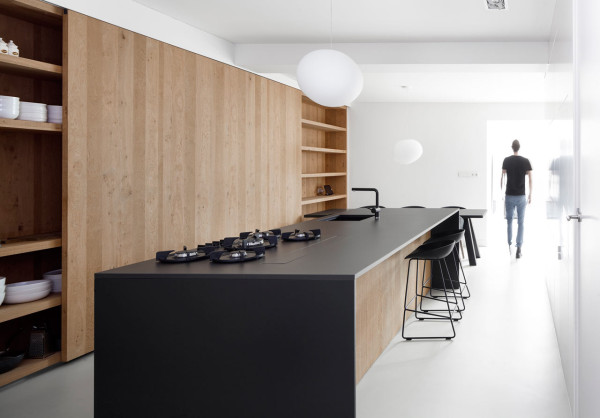 Once a Garage, Now a Light Filled Home in Amsterdam in main interior design architecture Category