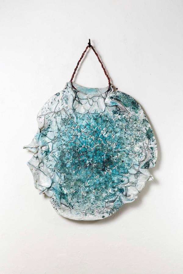 K95127 Interlace 2014,83x64x3cm,glass,copper