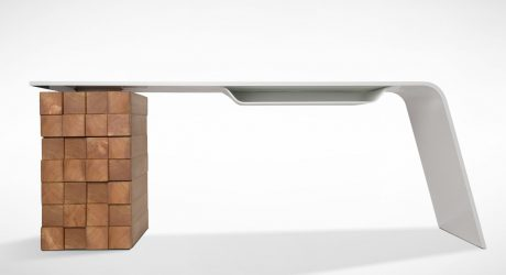 A High Tech Desk That Charges Your Phone