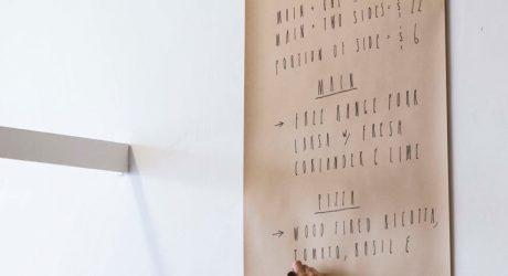 Wall-Mounted Kraft Paper Roll Dispenser