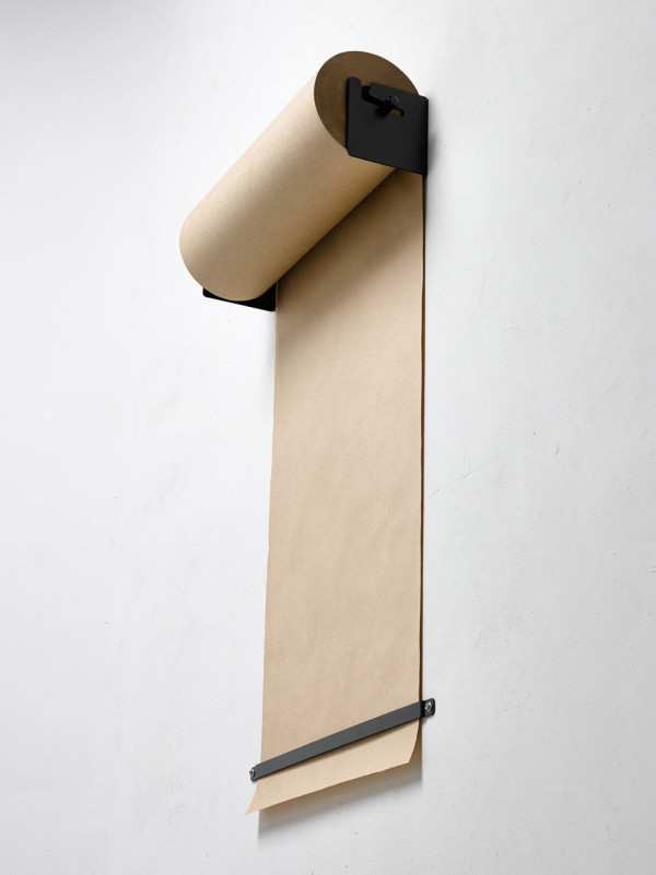 Wall Mounted Kraft Paper Roll Dispenser Design Milk