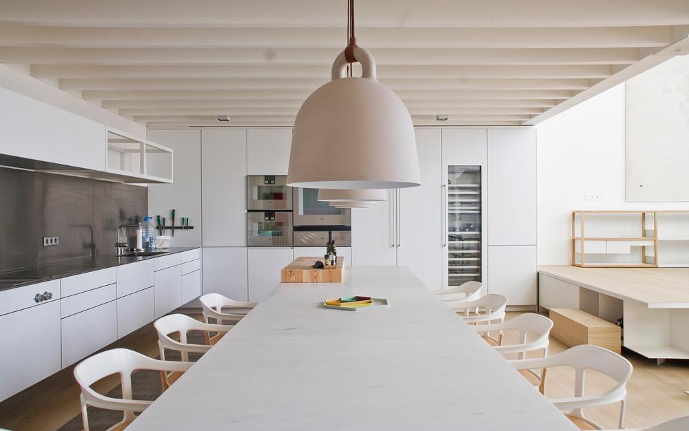 A LightFilled Industrial Loft in Barcelona  Design Milk