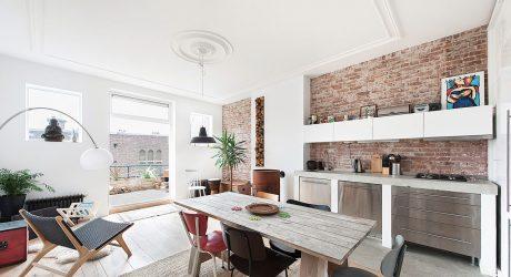 Top Floor Dutch Apartment Gets a Modern Renovation