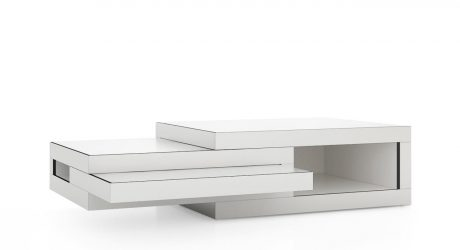 REK Extending Coffee Table by Reinier de Jong