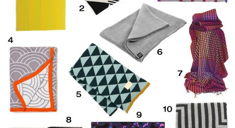 10 Cozy, Modern Throws to Keep You Warm