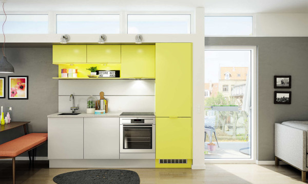 Roundup Scand Kitchen 11 HTH KT12_Mono_Color Yellow
