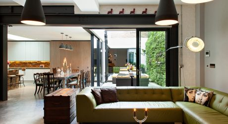 A Shoreditch Warehouse is Renovated into Vibrant Spaces
