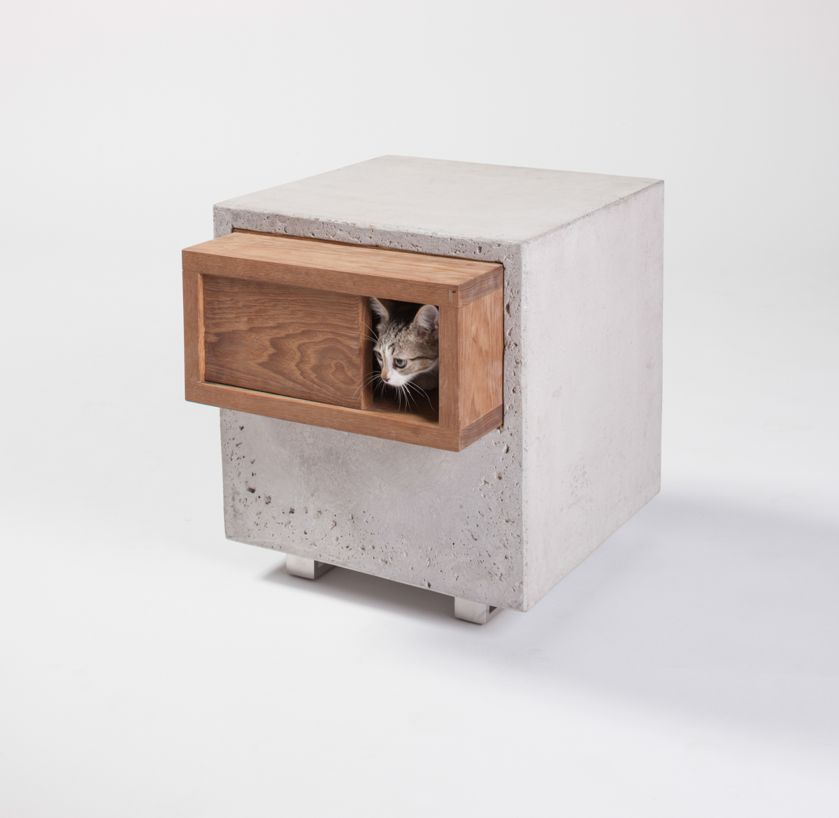 Inspired Outdoor Cat Shelters by Architects for Animals