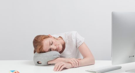 Ostrich Pillow Mini: A Personal Power Nap Pillow