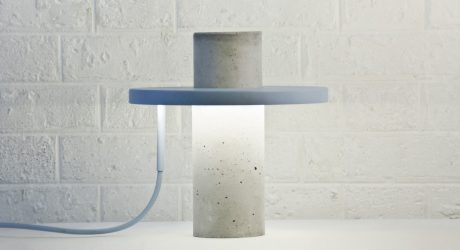 TOTEM: A Table Lamp by Alexandre Dubreuil Studio