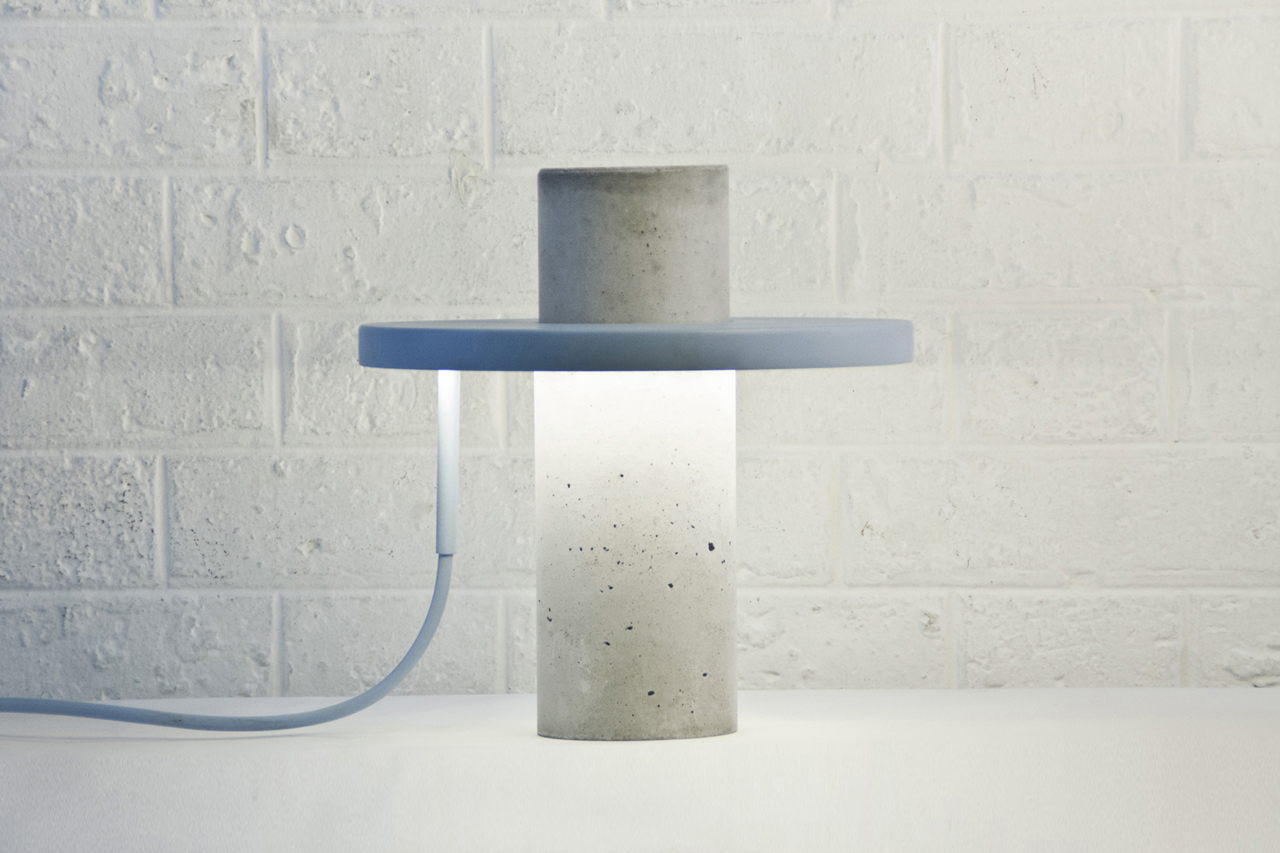 TOTEM: A Table Lamp by Alexandre Dubreuil Studio ...