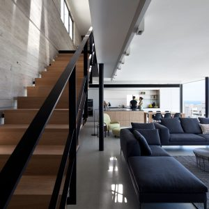 A Duplex Penthouse Apartment by Pitsou Kedem Architects