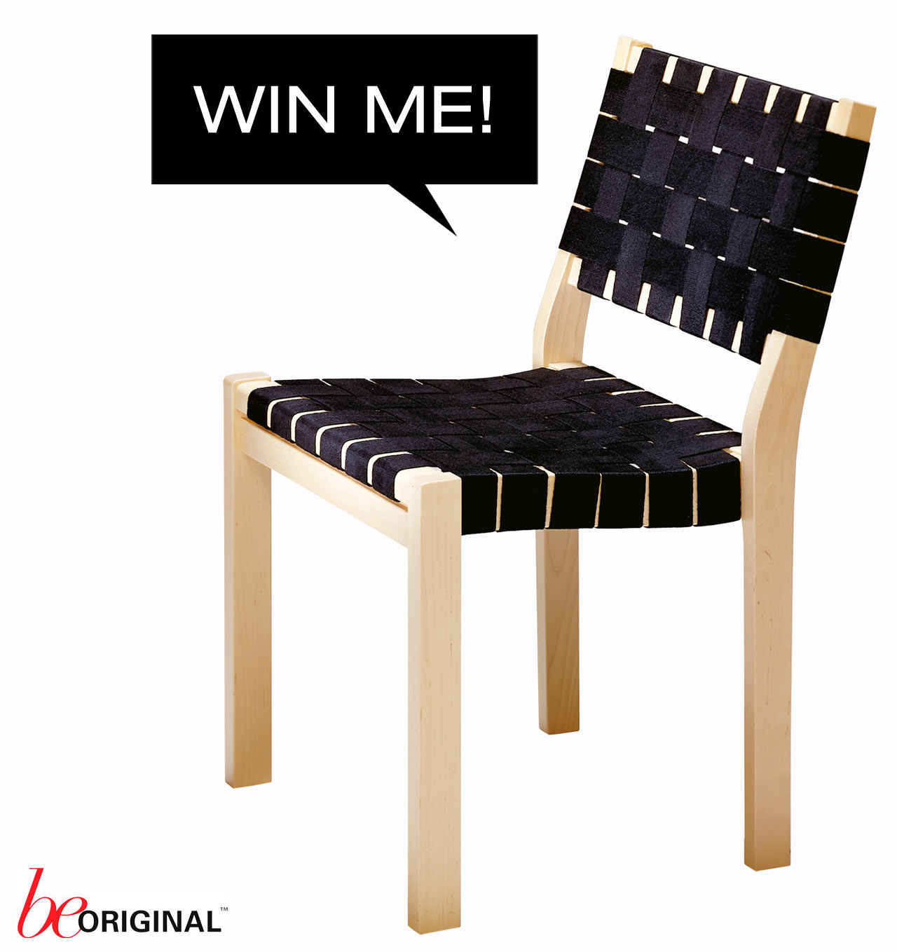 Win an artek 611 chair design milk for Sedia 611 artek