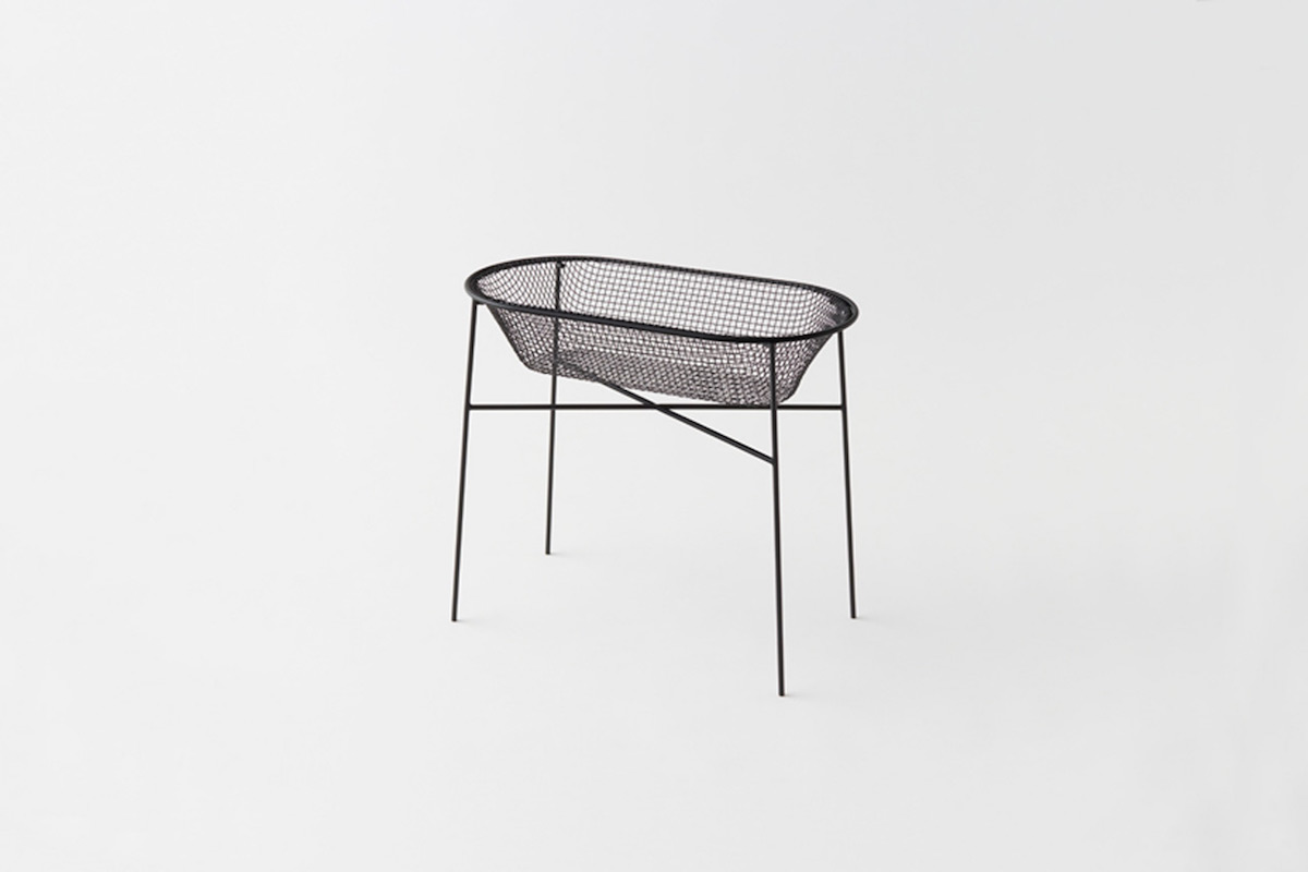 Basket-container by Nendo