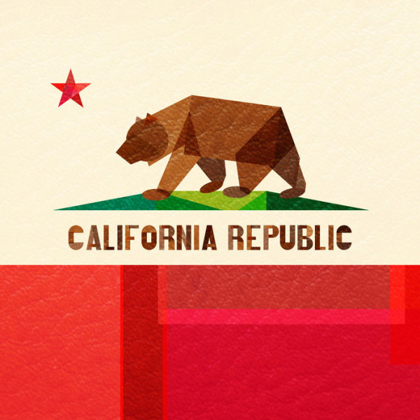 california-republic-flag-poster