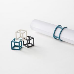 Cubic Rubber Bands from Nendo