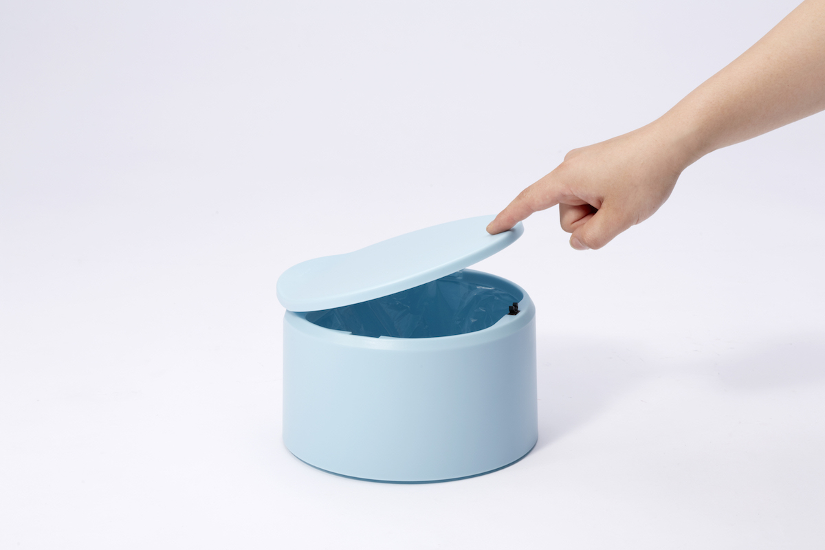 Tubelor Flat20 Trash Can by Ideaco
