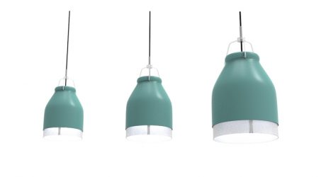 Minimal LED Lighting Inspired by Cowbells