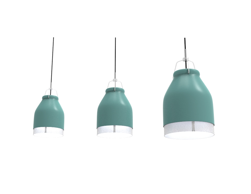 minimal lighting. minimal led lighting inspired by cowbells
