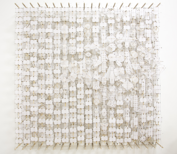 "The Peaceful Depths of Ceaseless Multiplication, 2014.  72"" x 72"" x 8"""