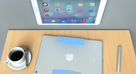 MagBak: World's Thinnest iPad Mount