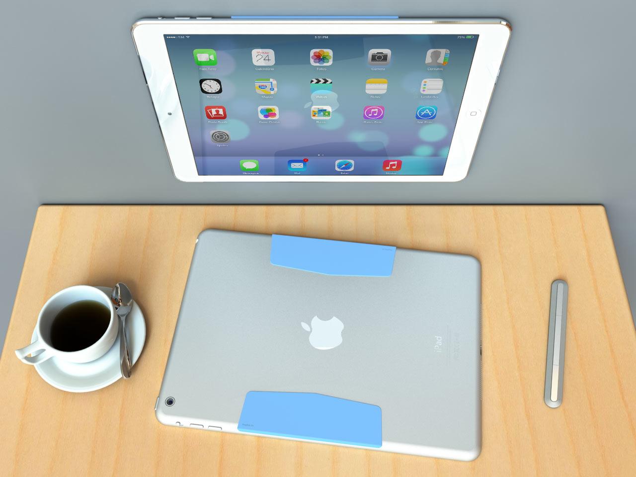 MagBak: World's Thinnest iPad Mount