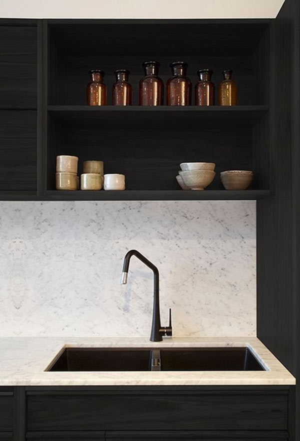 Black Is The New Black Design Milk - Black faucet for kitchen