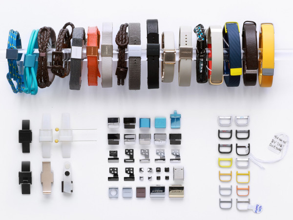 """""""With UP3, we have taken this even further and explored hundreds of internal component and sensor layouts, resulting in different widths andlengthsof the band. These prototypes, often differing by as little as .3mm, were judged for comfort, size impression, andproportions before we selected the optimal ergonomics for a variety of wrist sizes."""" - Yves Behar"""