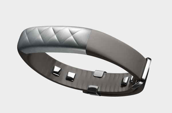 """""""An innovative adjustable clasp had to be invented to allow for the sensor data to travel around the wrist and strap. The clasp mechanism allows the band to slide through a flat metal gate and lock in at just the right size for the user. This maximizes the exposure of the sensors on your skin."""" - Yves Behar"""