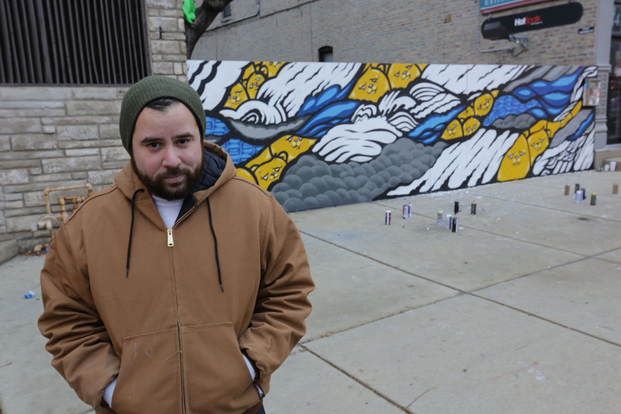 Street Artists Inspire Communities to Shop on Small Business Saturday