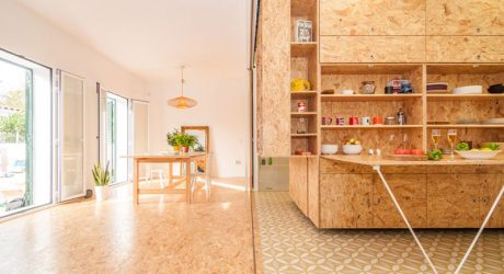 An Experimental Transforming House by PKMN architectures